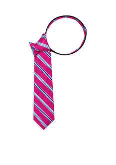 J. Khaki Two-Tone Stripe Zip Tie