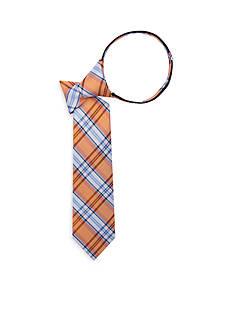 J. Khaki Boardwalk Plaid Zip Tie
