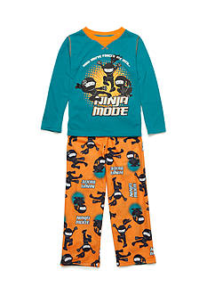 J. Khaki 2-Piece Ninja Pajama Set Boys 4-20