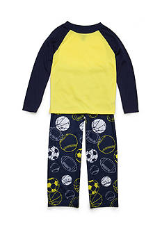 J. Khaki® 2-Piece Multi-Sport Pajama Set Boys 4-20