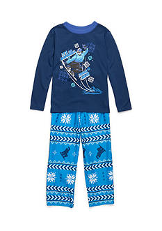 J. Khaki® Downhill Skiing 2-Piece Pajama Set Boys 4-20