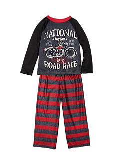 J. Khaki® Graphic Road Race Pajama Set Boys 4-20