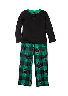 J. Khaki® Graphic Deer Pajama Set Boys 4-20