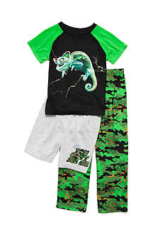 J. Khaki Camo Chameleon 3-Piece Pajama Set Boys 4-20