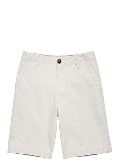 Red Camel® Flat Front Twill Short Boys 8-20