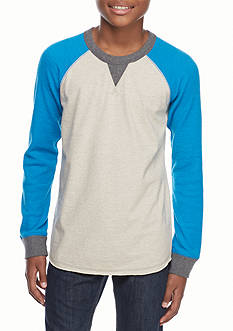 Red Camel Raglan Crew Tee Boys 8-20