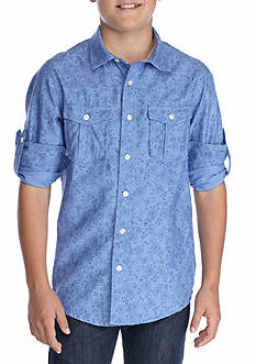Red Camel® Woven Printed Shirt Boys 8-20