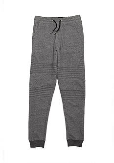 Red Camel Knit Moto Joggers Boys 8-20