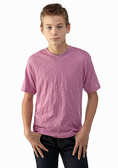 Red Camel Boys® Solid V-Neck Tee Boys 8-20