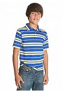 Red Camel® Short Sleeve Striped Polo Boys 8-20