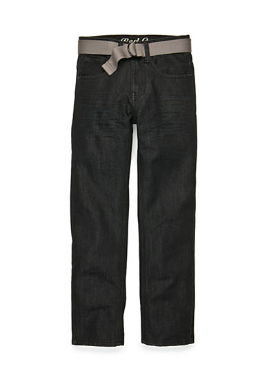 Red Camel® Belted Ari Straight Jeans Boys 8-20
