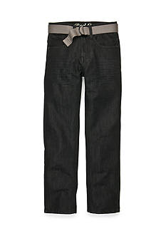 Red Camel Belted Ari Straight Jeans Boys 8-20