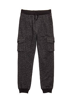 Red Camel Knit Cargo Jogger Pants Boys 8-20