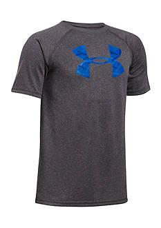 Under Armour Big Logo Short Sleeve Tee Boys 8-20