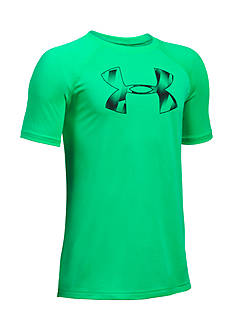 Under Armour Big Logo Short Sleeve Tee Boys 8-20