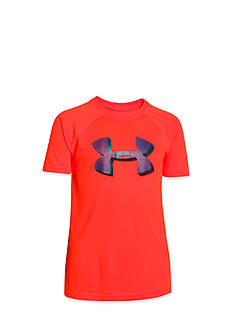 Under Armour® Big Logo Short Sleeve Tee Shirt Boys 8-20
