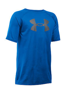 Under Armour® Big Logo Short Sleeve Tee Boys 8-20