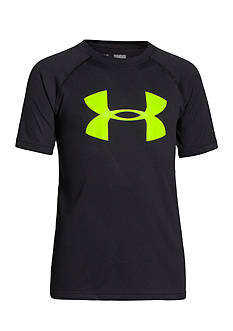 Under Armour® Tech Embossed Big Logo Tee Boys 8-20