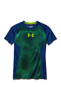 Under Armour® Armour Up HeatGear Fitted Short Sleeve Tee Boys 8-20