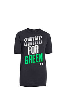 Under Armour® Swing for Green Tee Boys 8-20