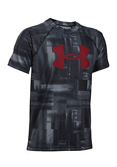 Under Armour Tech Big Logo Printed Tee Boys 8-20