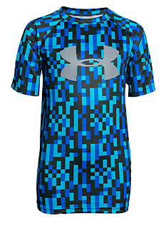 Under Armour® Big Logo Novelty Tech Tee Boys 8-20