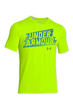 Under Armour® Linear Script Tee Boys 8-20
