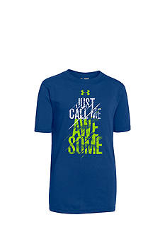 Under Armour® Short Sleeve Awesome Tee Boys 8-20