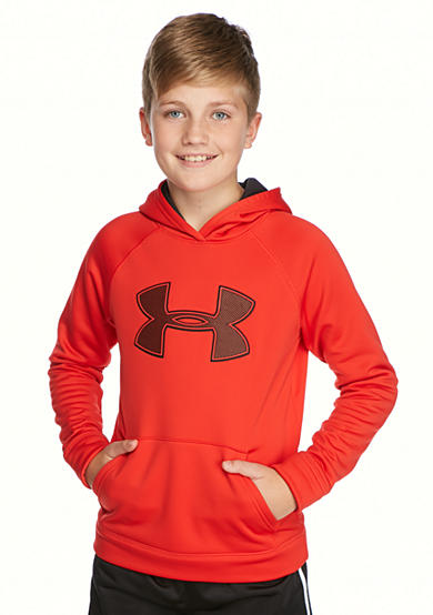 Under Armour Storm Armour Fleece Big Logo Hoodie Boys 8 20