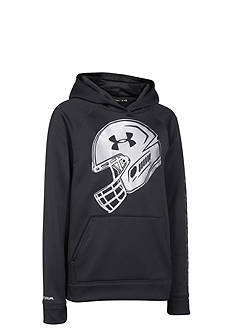 Under Armour® Storm Armour Fleece Football Logo Hoodie Boys 8-20
