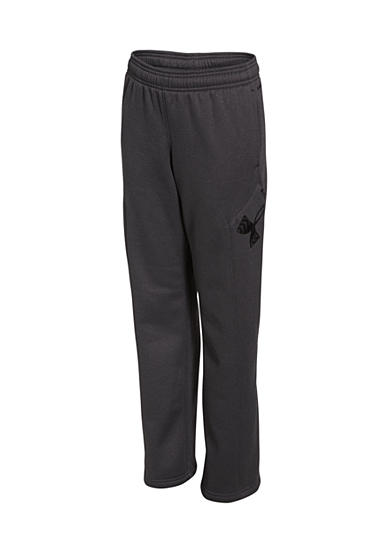 Under Armour® Fleece Big Logo Pants Boys 8-20