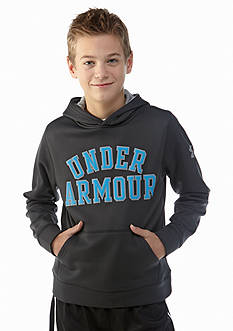 Under Armour® Rival Cotton Printed Hoodie Boys 8-20