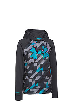 Under Armour® Storm Armour Fleece Printed Big Logo Hoodie Boys 8-20