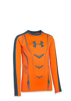 Under Armour® Lightweight ColdGear Armour Up Fitted Crew Boys 8-20