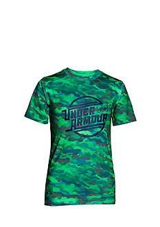 Under Armour® Coolswitch Camo Tee Boys 8-20