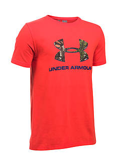 Under Armour Camo Fill Logo Tee Boys 8-20