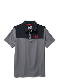 Under Armour Match Play Blocked Polo Shirt Boys 8-20