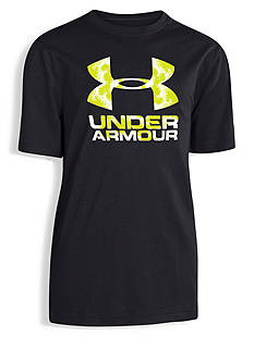 Under Armour® Short Sleeve Big Logo Tee Boys 8-20