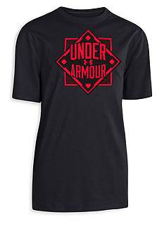 Under Armour® Short Sleeve Diamond Tee Boys 8-20