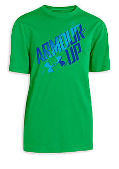 Under Armour® Short Sleeve Armour Up Tee Boys 8-20