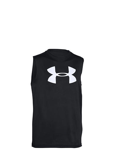 Under Armour® Big Logo Muscle Tank Boys 8-20