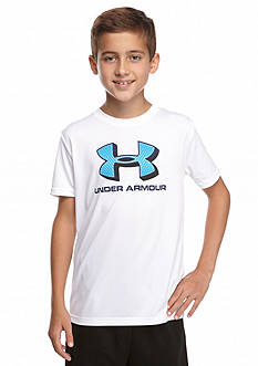 Under Armour® Big Logo Screen Tee Boys 8-20