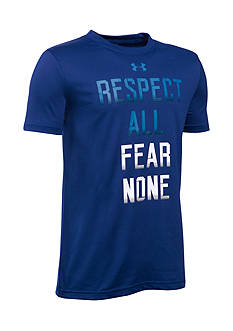 Under Armour® 'Respect All Fear None' Tee Boys 8-20