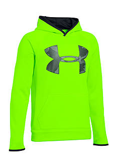 Under Armour® Fleece Highlight Big Logo Hoodie Boys 8-20