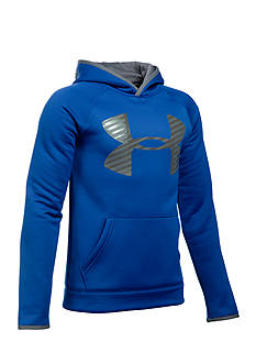 Under Armour Fleece Highlight Big Logo Hoodie Boys 8-20
