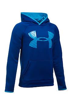 Under Armour Fleece Highlight Big Logo Hoodie Boys 8-20