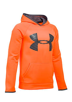 Under Armour® Storm Armour Fleece Highlight Big Logo Hoodie Boys 8-20