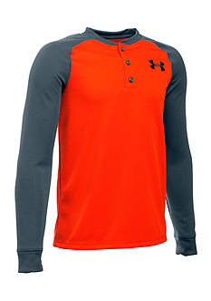 Under Armour® Waffle Henley Shirt Boys 8-20