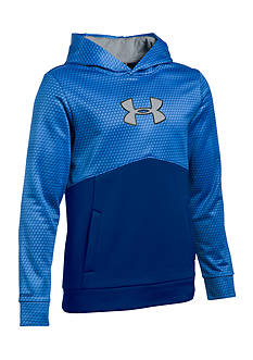 Under Armour® Mid Logo Hoodie Boys 8-20