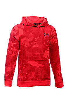 Under Armour® Sportstyle Fleece Printed Hoodie Boys 8-20